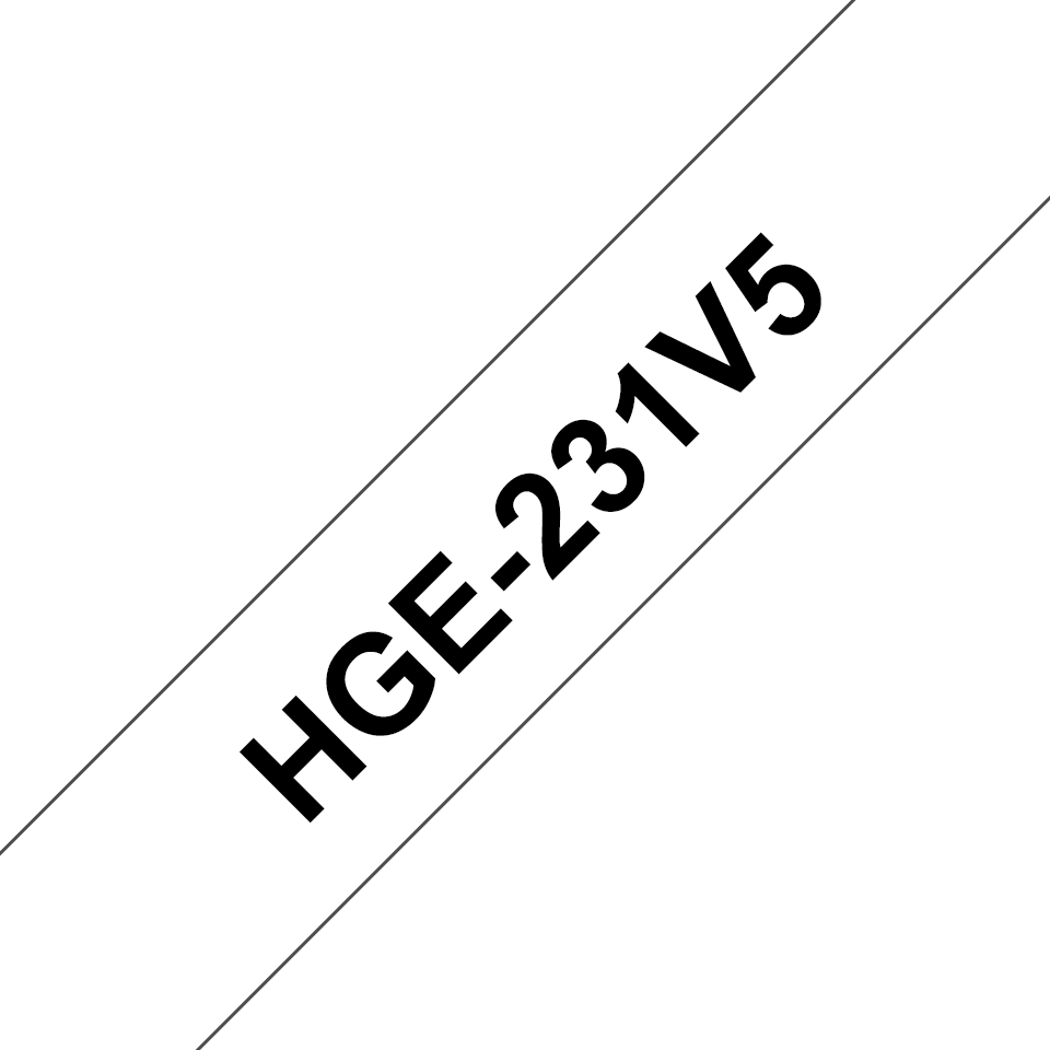 Originalna Brother HGe-231V5 kaseta s trakom za označavanje