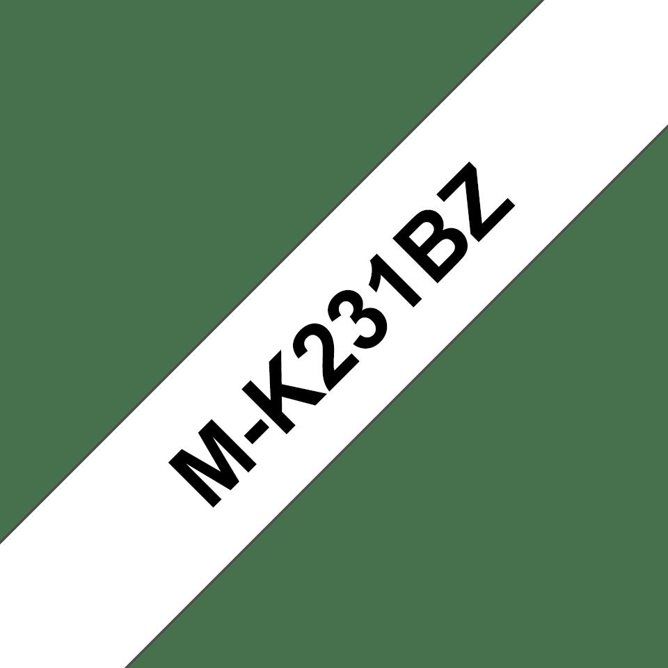 Originalna Brother M-K231BZ kaseta s trakom za označavanje