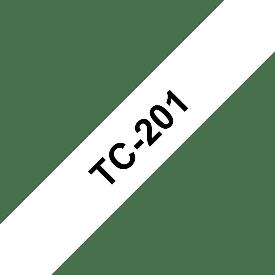 Originalna Brother TC-201 kaseta s trakom za označavanje