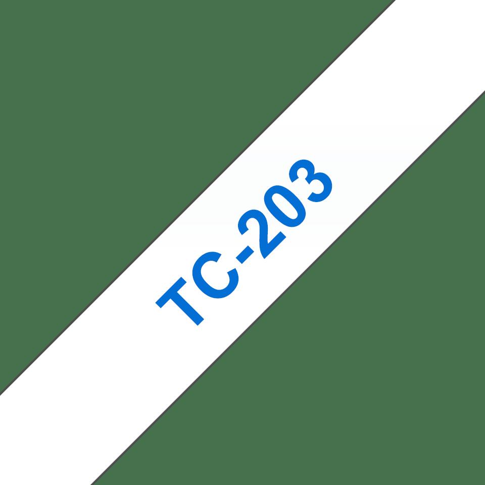 Originalna Brother TC-203 kaseta s trakom za označavanje