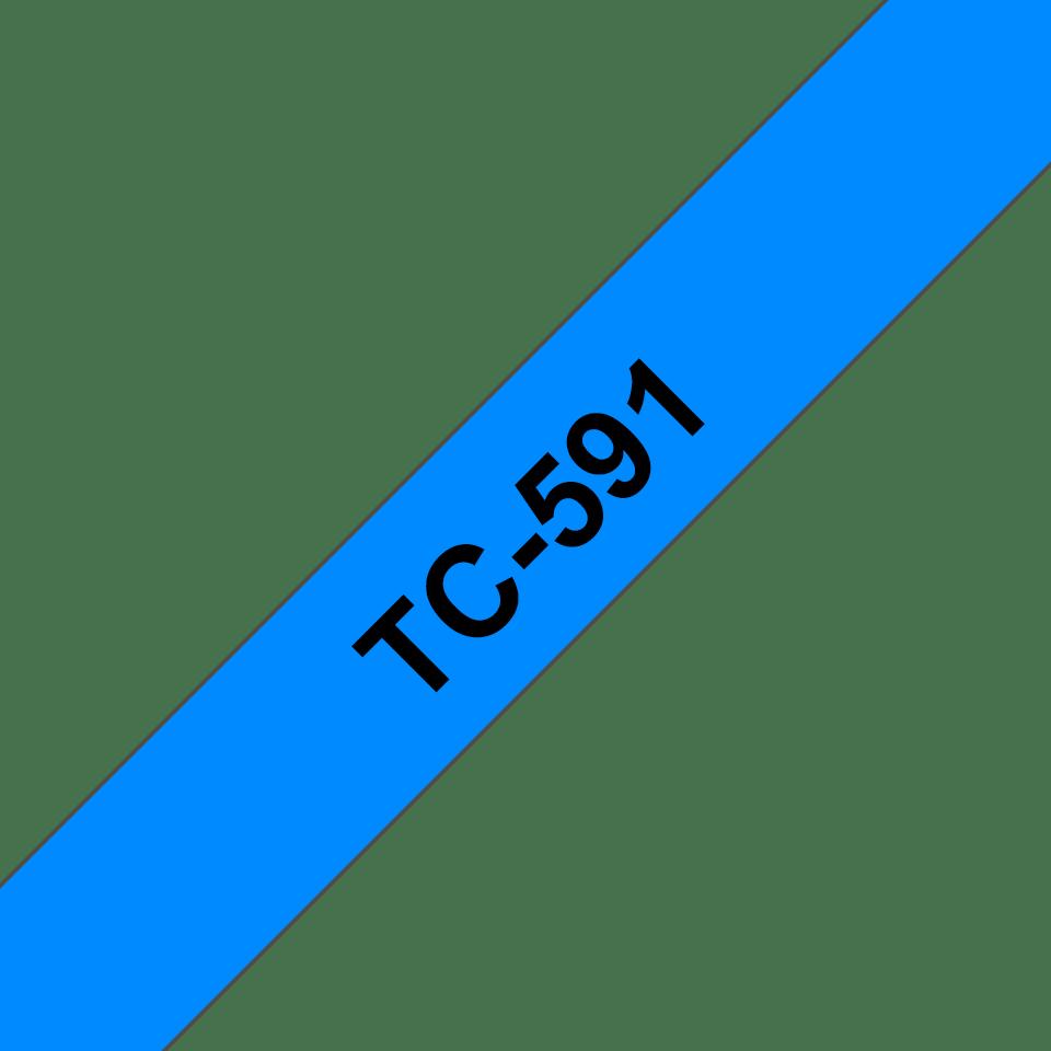 Originalna Brother TC-591 kaseta s trakom za označavanje