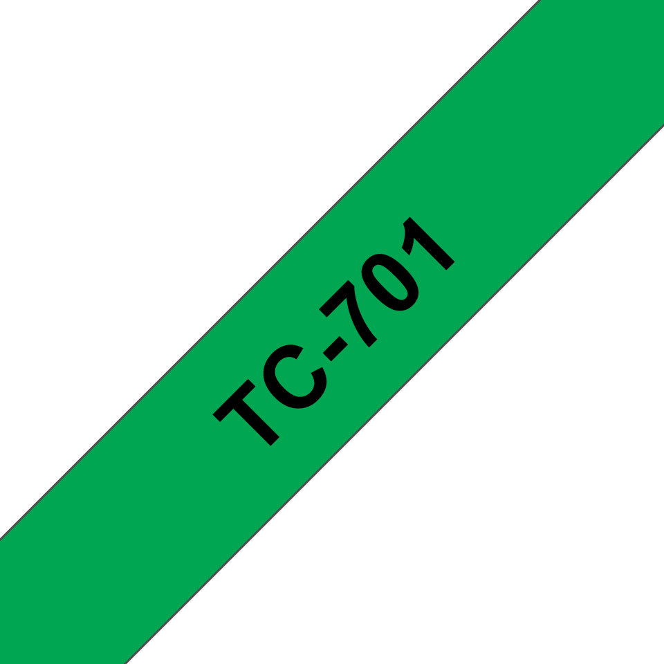 Originalna Brother TC-701 kaseta s trakom za označavanje
