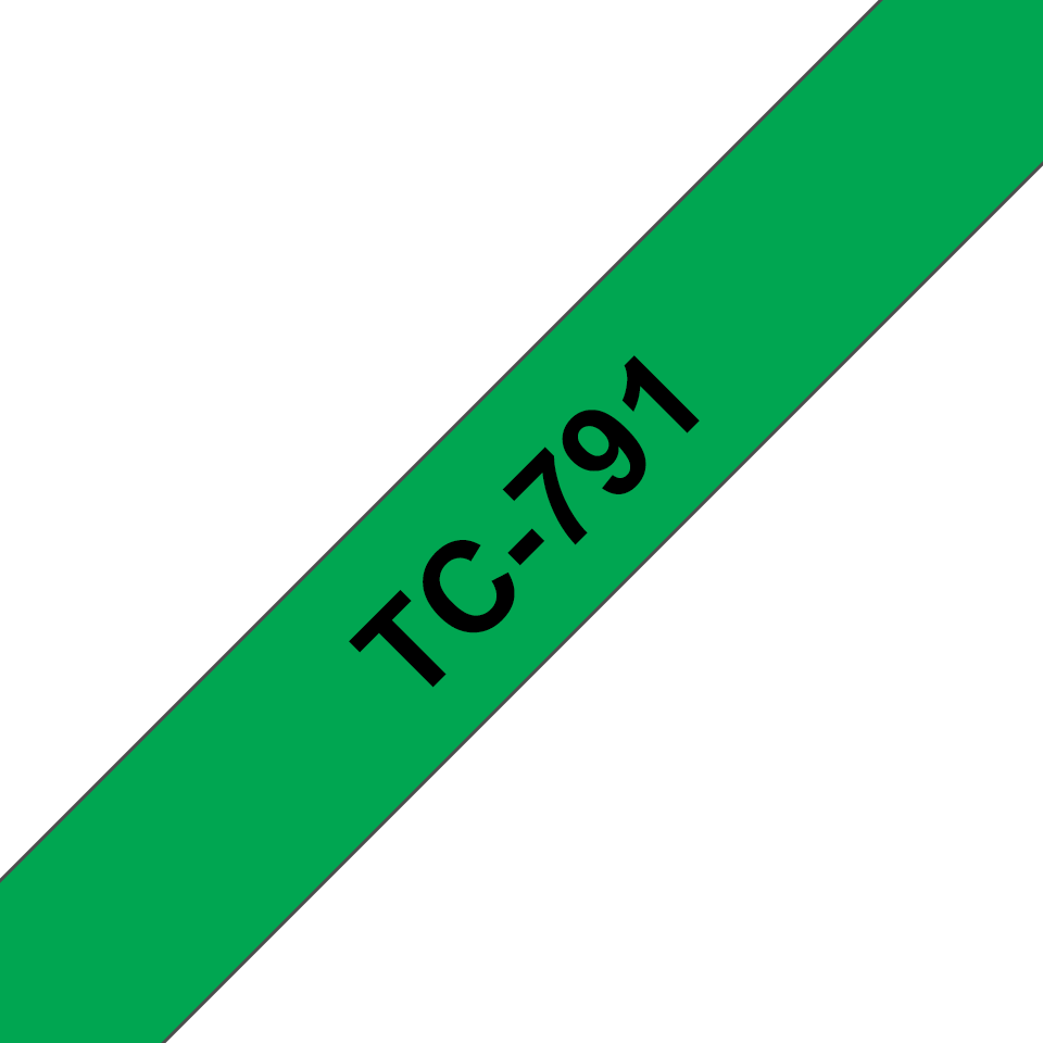 Originalna Brother TC-791 kaseta s trakom za označavanje