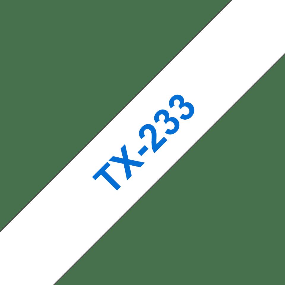 Originalna Brother TX-233 kaseta s trakom za označavanje