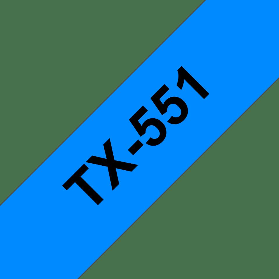 Originalna Brother TX-551 kaseta s trakom za označavanje