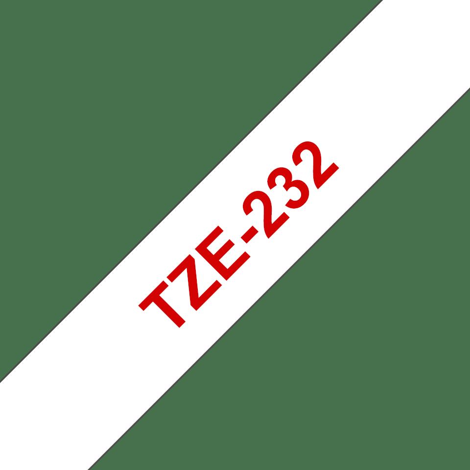 Originalna Brother TZe-232 kaseta s trakom za označavanje