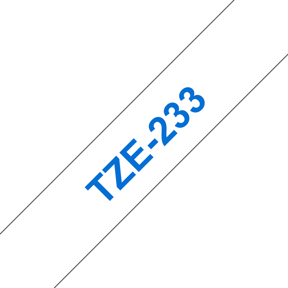 TZe-233 kaseta s trakom za označavanje