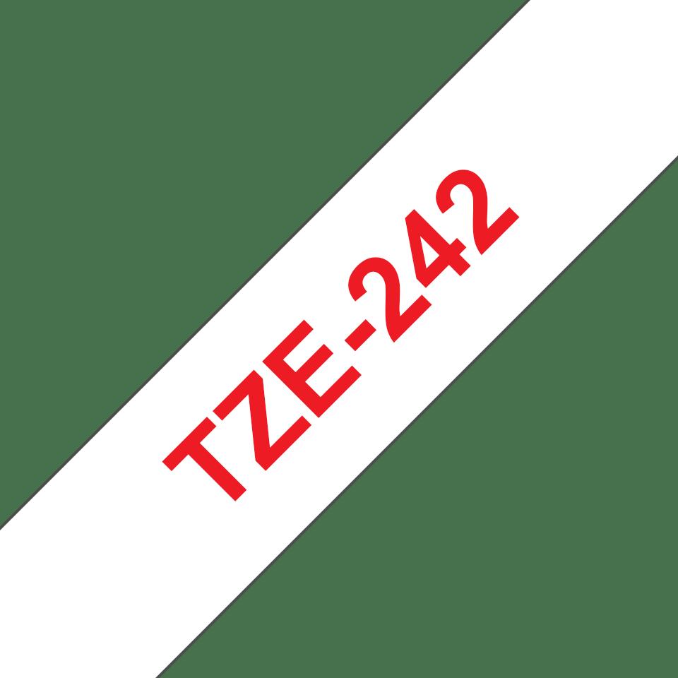 Originalna Brother TZe-242 kaseta s trakom za označavanje