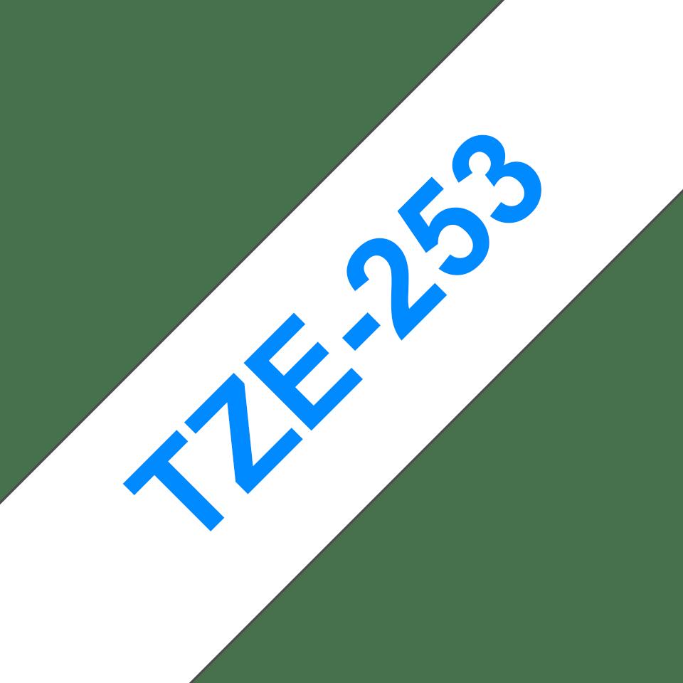 Originalna Brother TZe-253 kaseta s trakom za označavanje