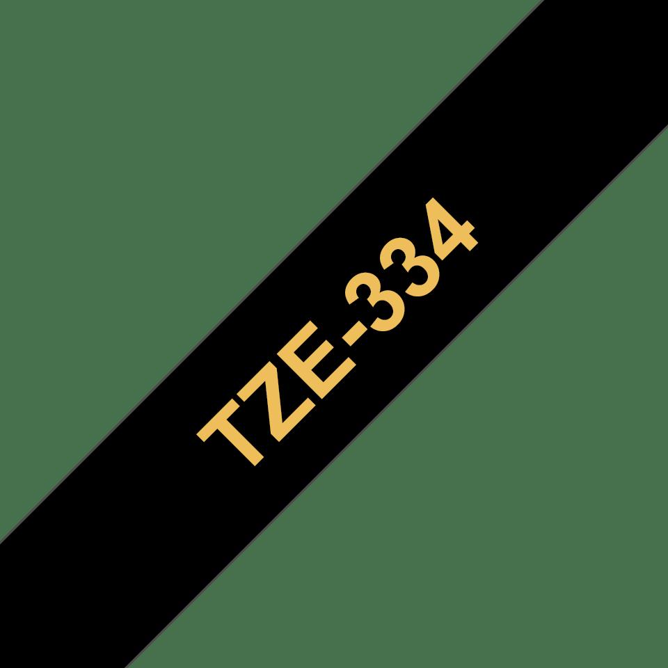 Originalna Brother TZe-334 kaseta s trakom za označavanje