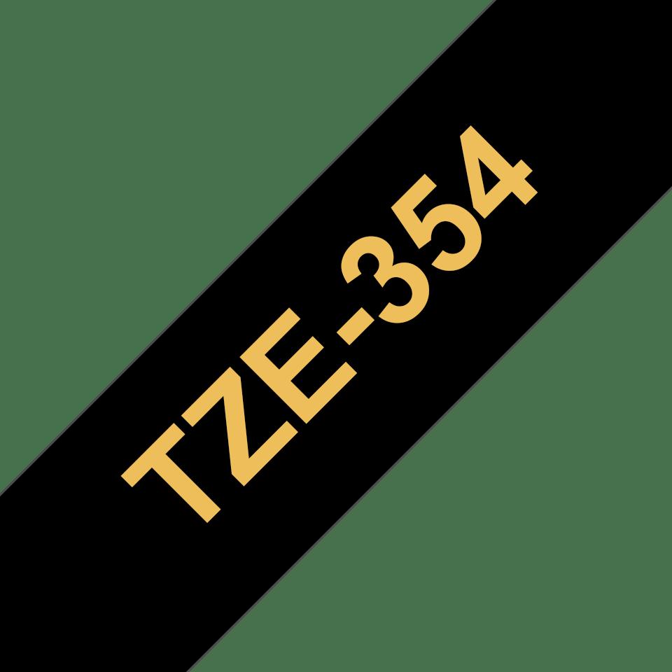 Originalna Brother TZe-354 kaseta s trakom za označavanje