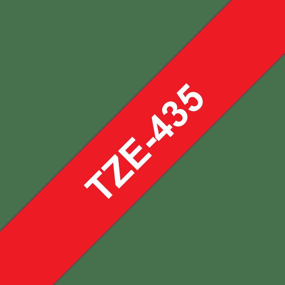 Originalna Brother TZe-435 kaseta s trakom za označavanje
