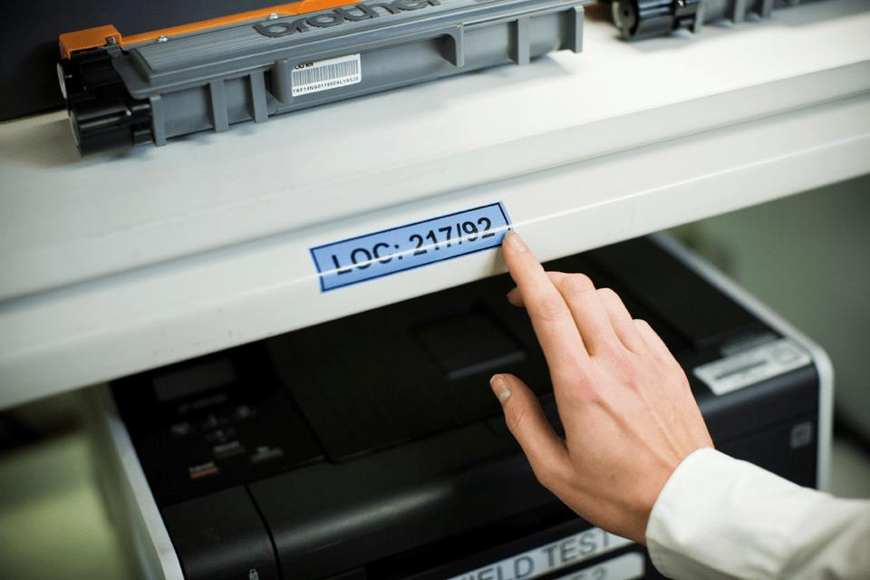 Originalna Brother TZe-551 kaseta s trakom za označavanje 4