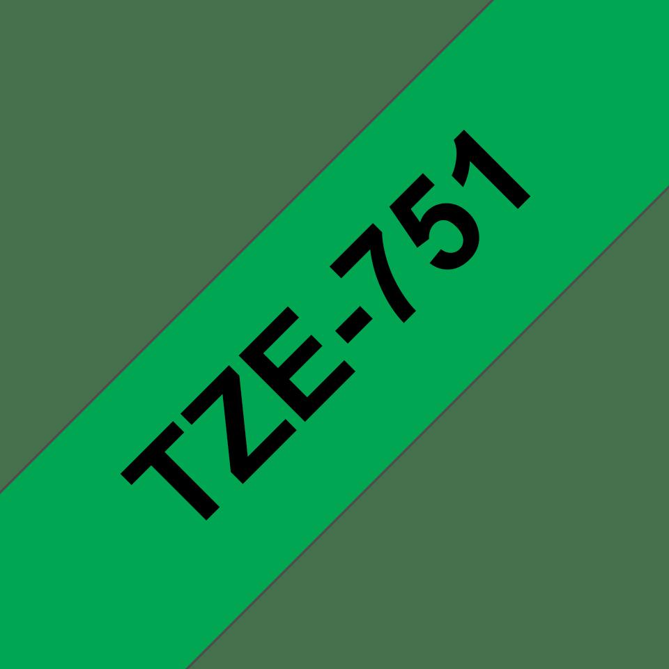 Originalna Brother TZe-751 kaseta s trakom za označavanje
