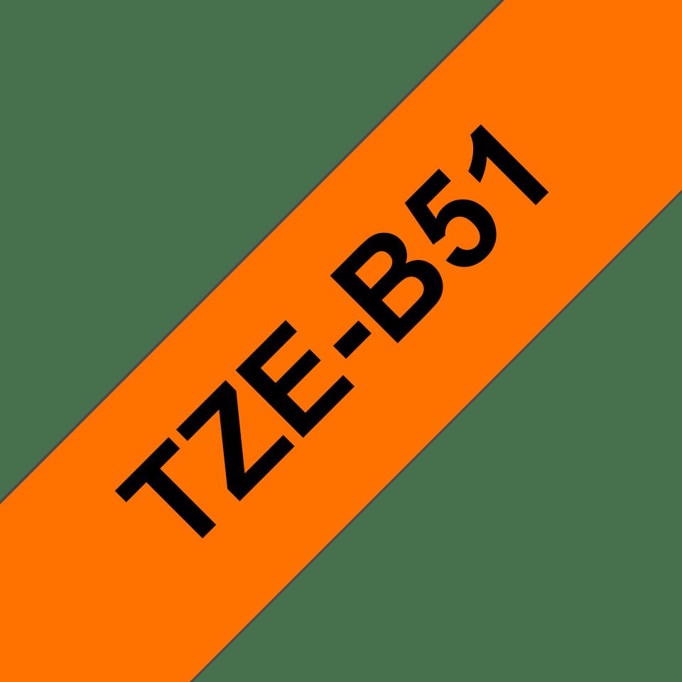 Originalna Brother TZe-B51 kaseta s trakom za označavanje