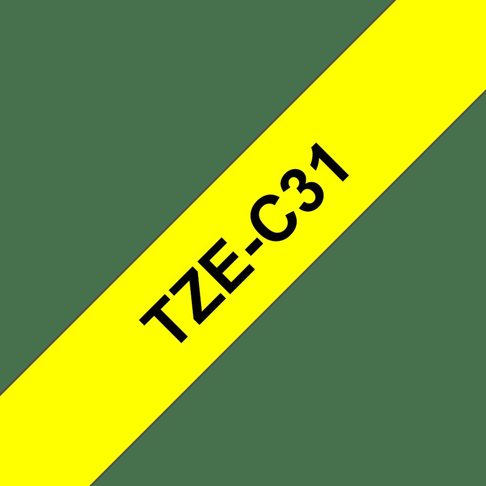 Originalna Brother TZe-C31 kaseta s trakom za označavanje
