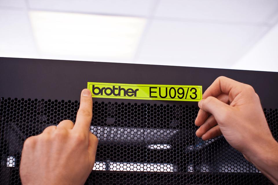 Originalna Brother TZe-C51 kaseta s trakom za označavanje 4