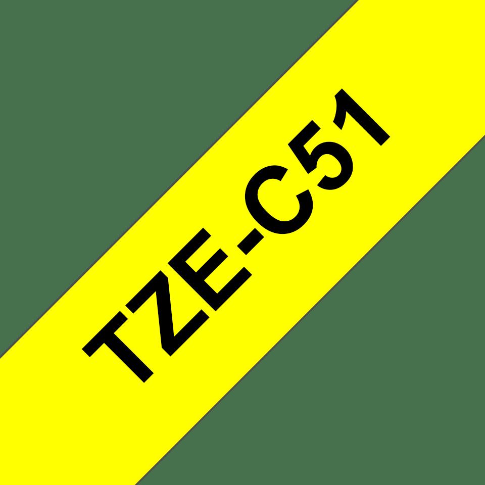 Originalna Brother TZe-C51 kaseta s trakom za označavanje