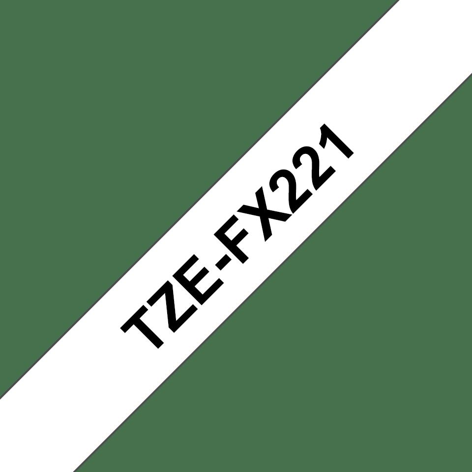 Originalna Brother TZe-FX221 kaseta s fleksibilnom ID trakom za označavanje