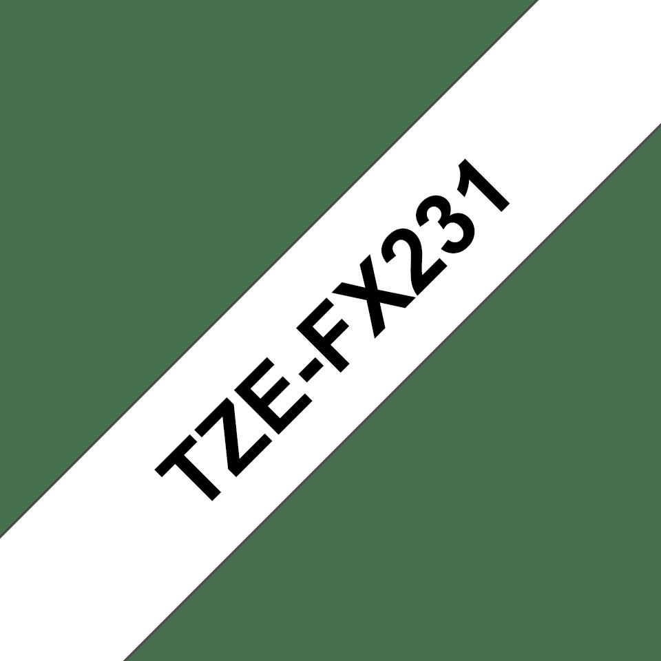 Originalna Brother TZe-FX231 kaseta s fleksibilnom ID trakom za označavanje