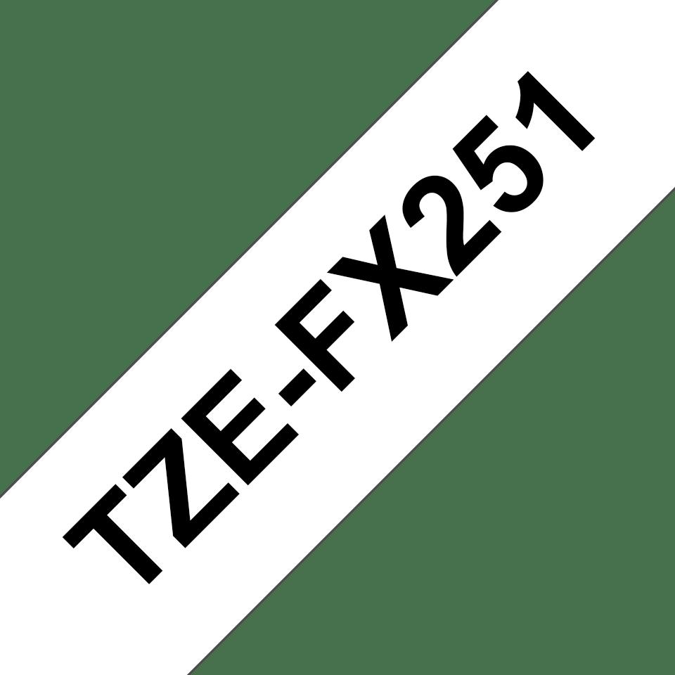 Originalna Brother TZe-FX251 kaseta s fleksibilnom ID trakom za označavanje