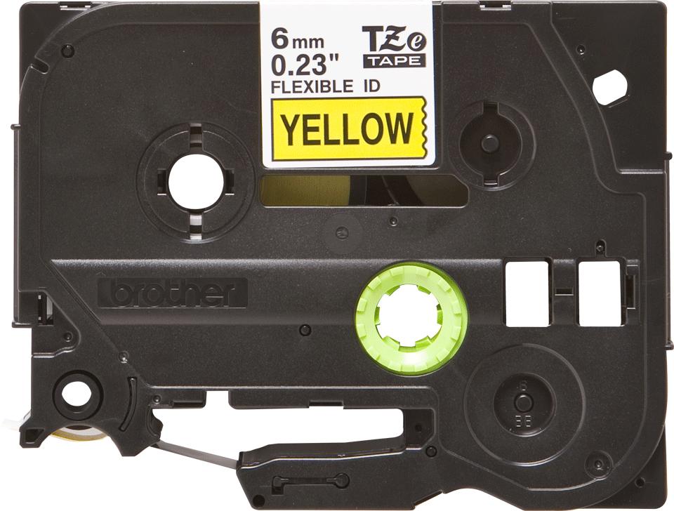 Originalna Brother TZe-FX611 kaseta s fleksibilnom ID trakom za označavanje 2