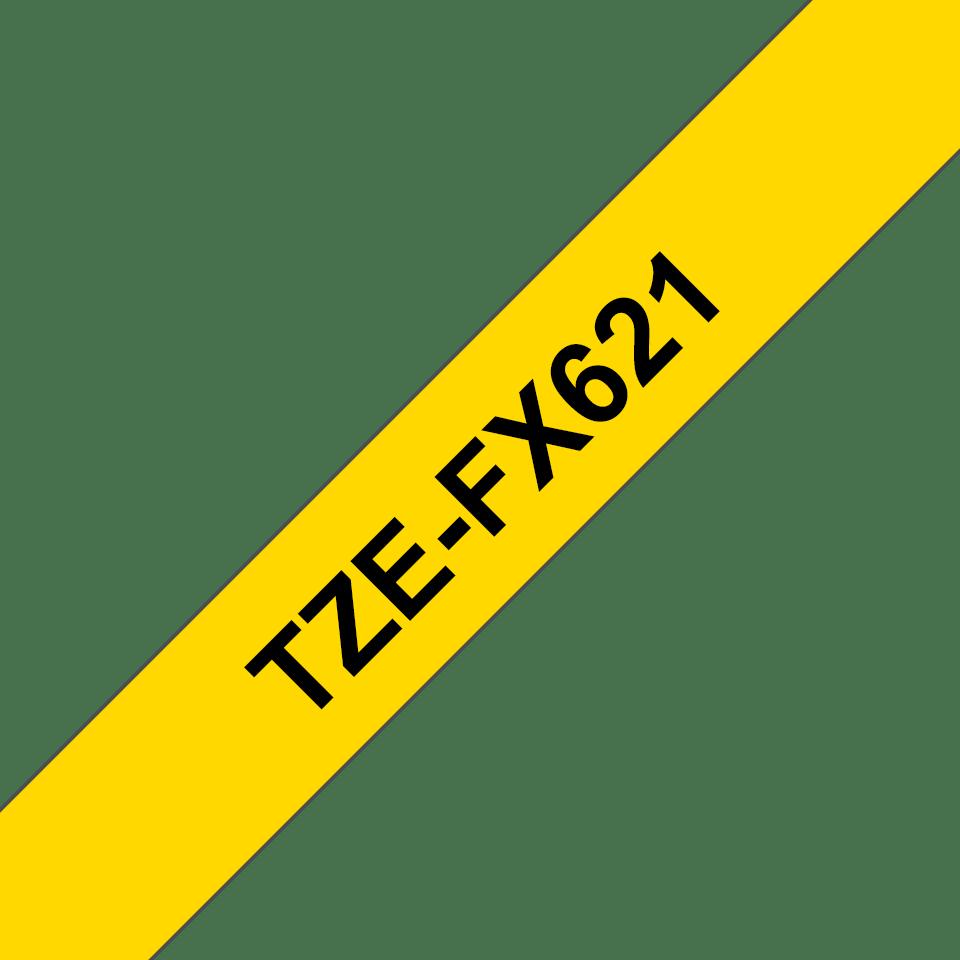 Originalna Brother TZe-FX621 kaseta s fleksibilnom ID trakom za označavanje