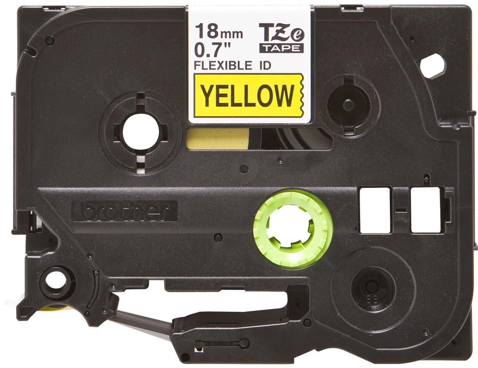 Originalna Brother TZe-FX641 kaseta s fleksibilnom ID trakom za označavanje 2