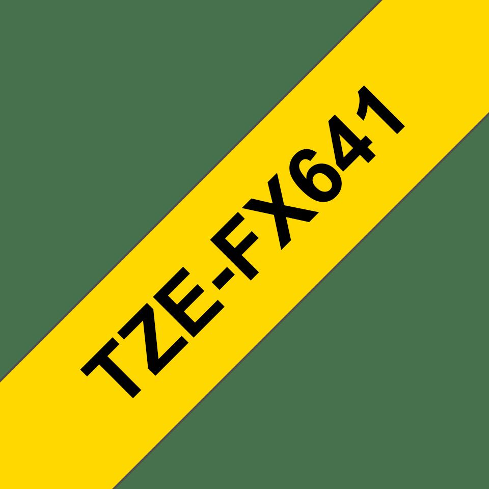 Originalna Brother TZe-FX641 kaseta s fleksibilnom ID trakom za označavanje