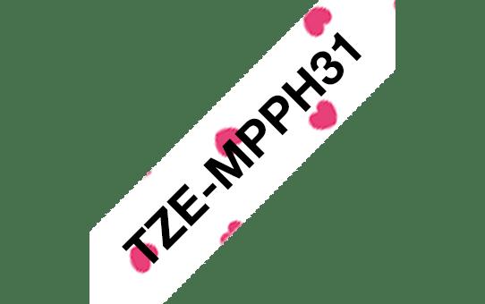 Originalna Brother TZe-MPPH31 kaseta s trakom za označavanje