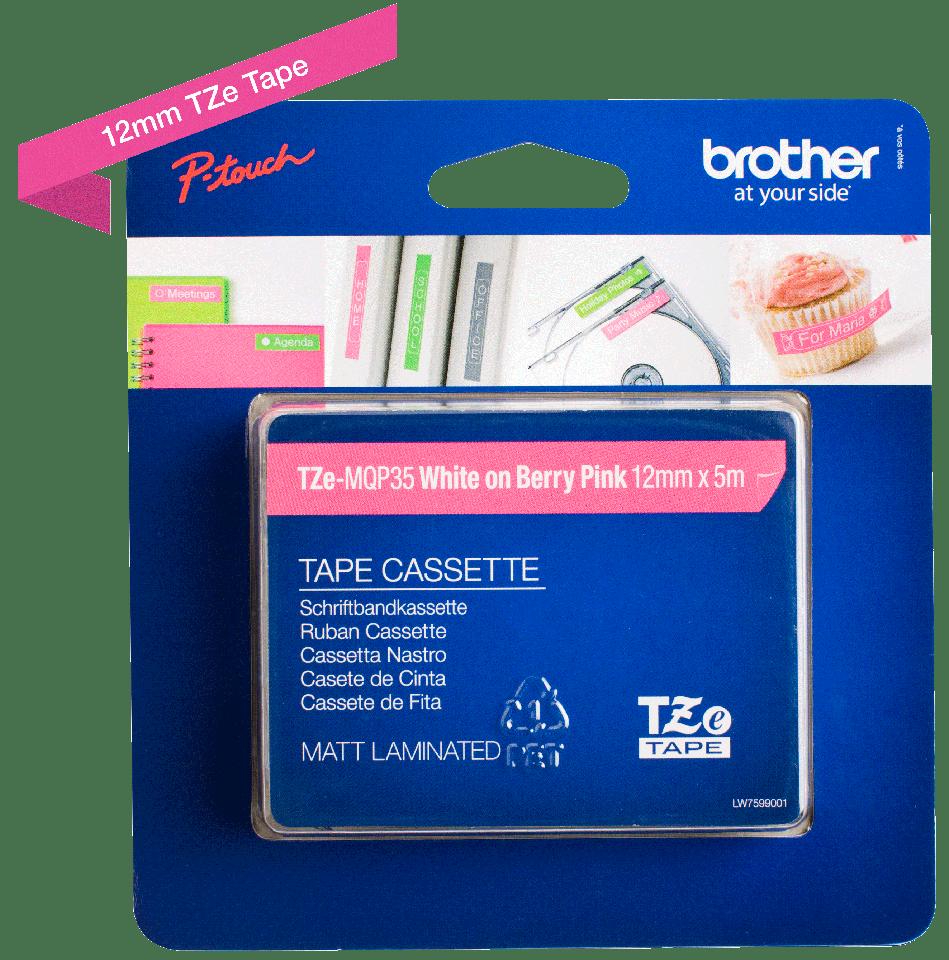 Originalna Brother TZe-MQP35 kaseta s trakom za označavanje 3