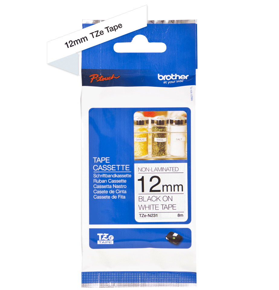 Originalna Brother TZe-N231 kaseta s trakom za označavanje 3