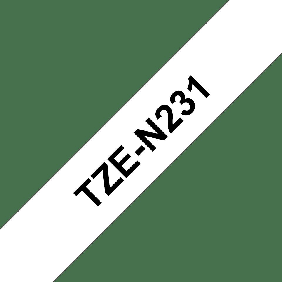 Originalna Brother TZe-N231 kaseta s trakom za označavanje