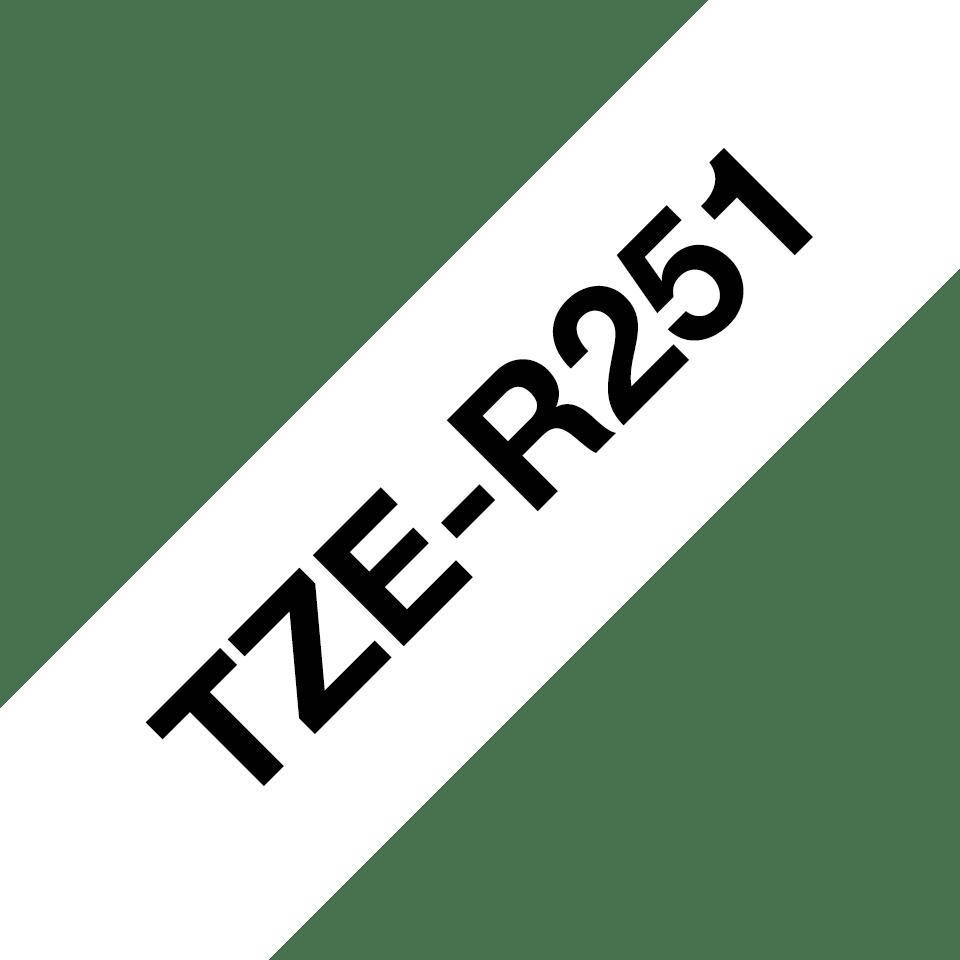 Originalna Brother TZe-R251 kaseta sa satenskom ukrasnom trakom za označavanje 3