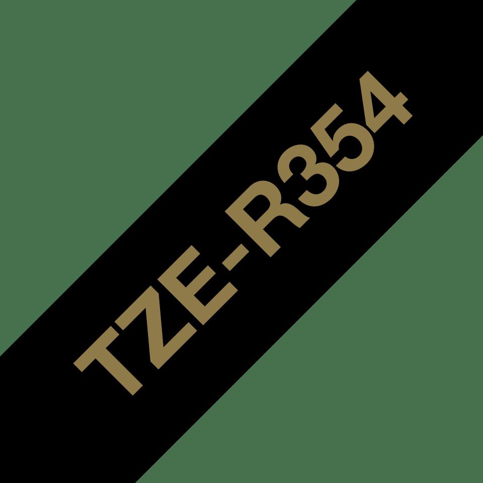 Originalna Brother TZe-R354 kaseta sa satenskom ukrasnom trakom za označavanje