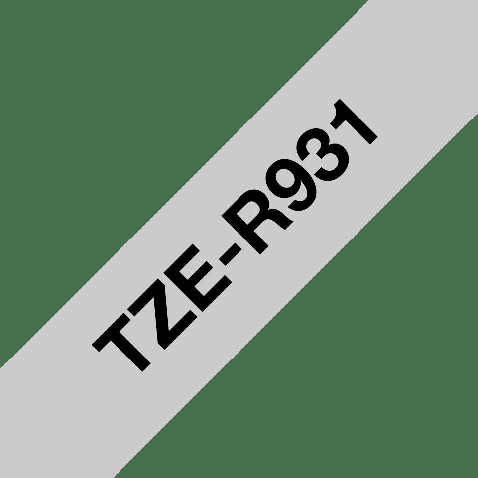 Originalna Brother TZe-R931 kaseta sa satenskom ukrasnom trakom za označavanje