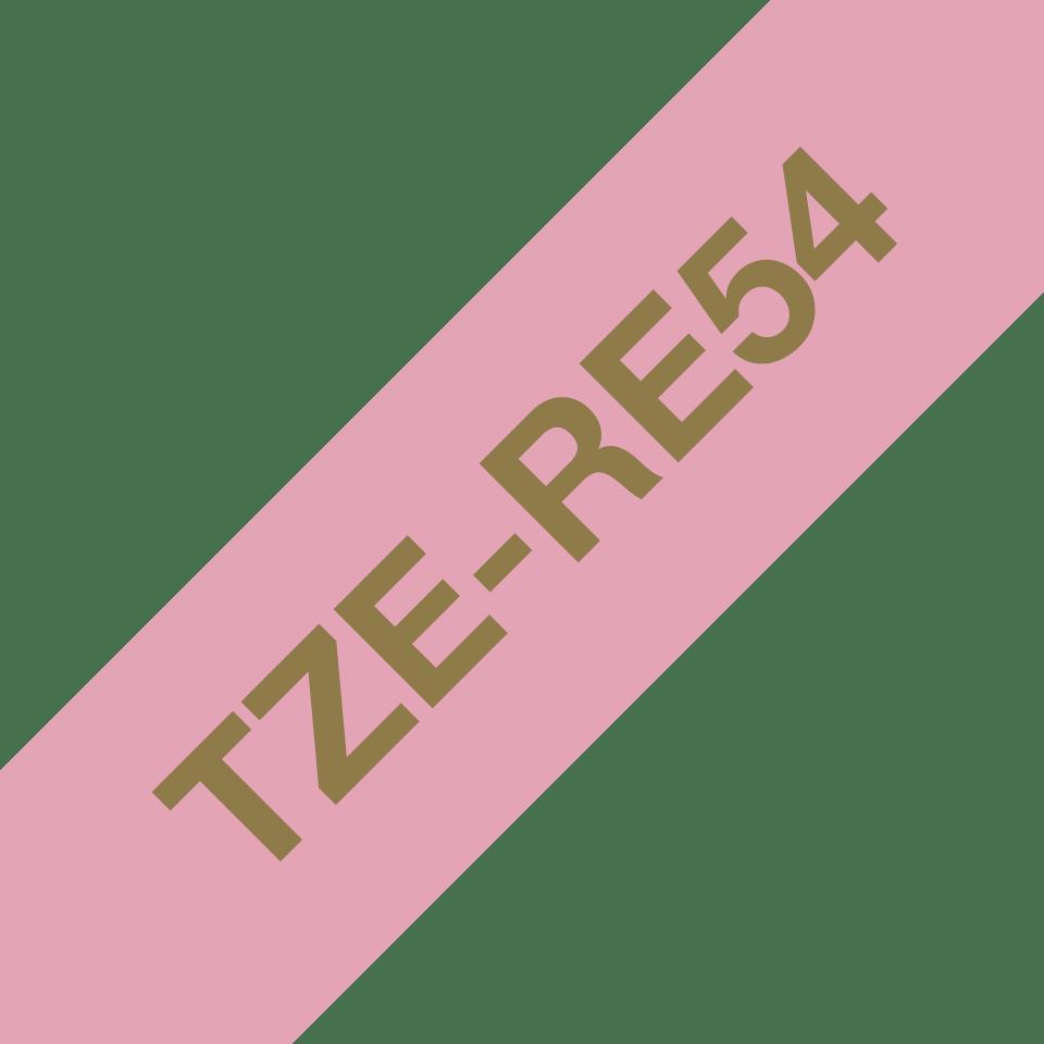 Originalna Brother TZe-RE54 kaseta sa satenskom ukrasnom trakom za označavanje