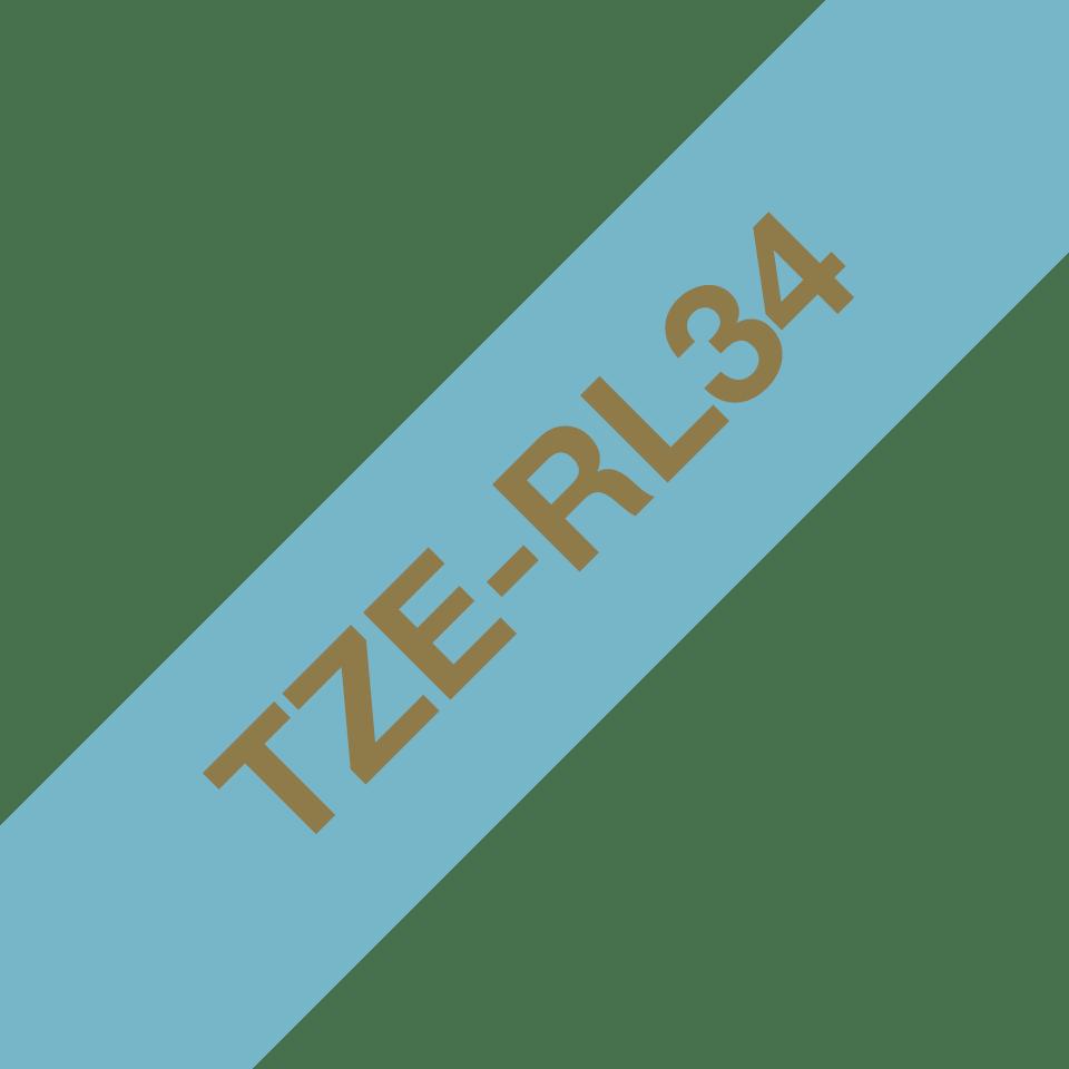 Originalna Brother TZe-RL34 kaseta sa satenskom ukrasnom trakom za označavanje