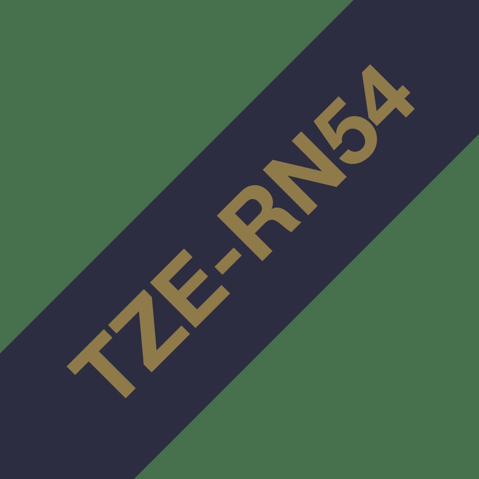 Originalna Brother TZe-RN54 kaseta sa satenskom ukrasnom trakom za označavanje