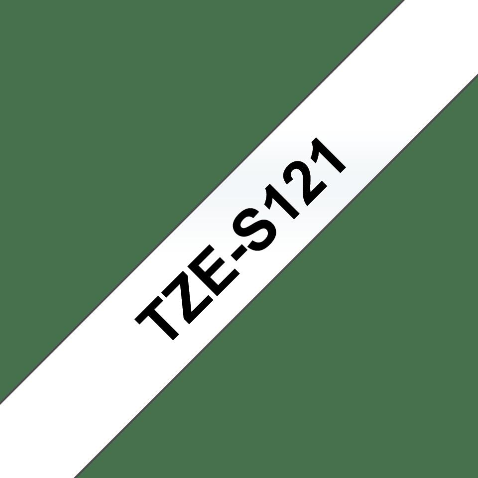 Originalna Brother TZe-S121 kaseta s trakom za označavanje s jakim ljepilom