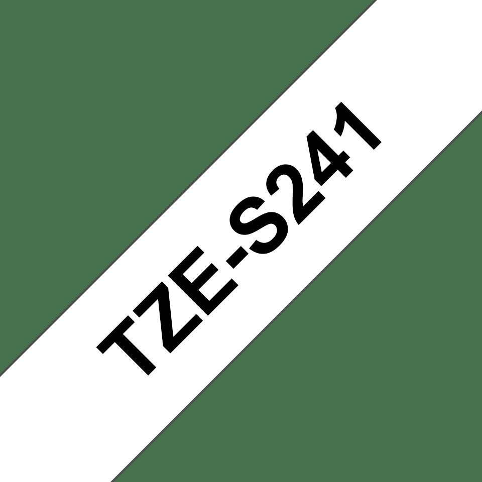 Originalna Brother TZe-S241 kaseta s trakom za označavanje s jakim ljepilom