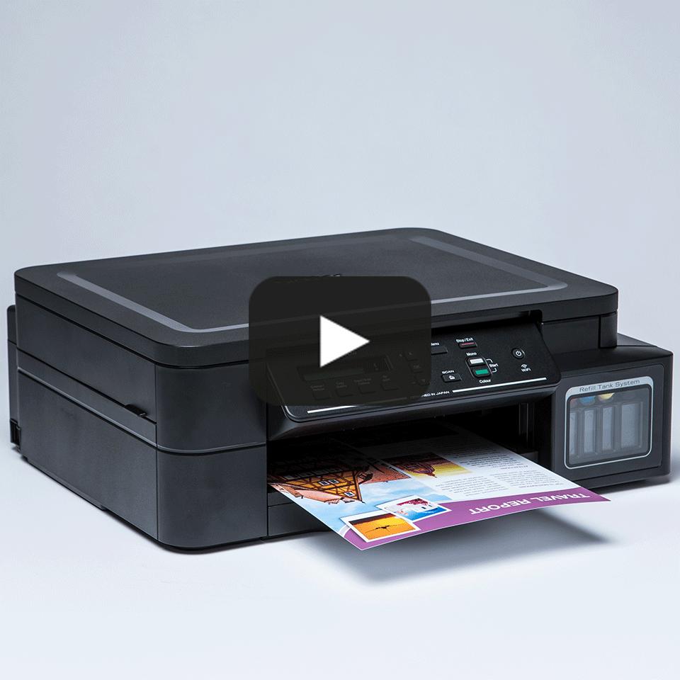 DCP-T510W InkBenefit Plus 3-u-1 bežični tintni višenamjenski uređaj u boji Brother 8