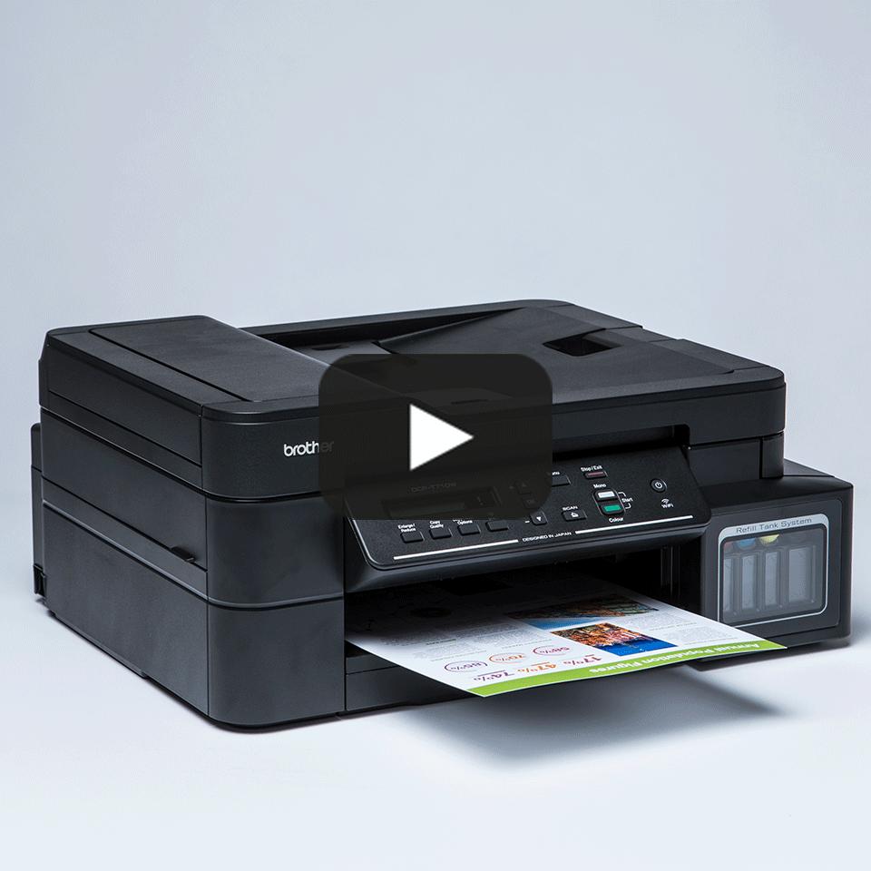DCP-T710W InkBenefit Plus 3-u-1 bežični tintni višenamjenski uređaj u boji Brother 8