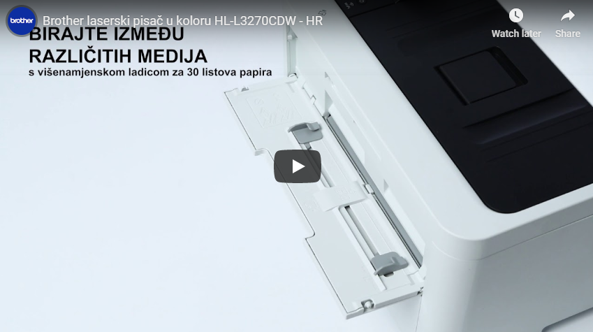 HL-L3270CDW bežični laserski pisač u boji 7