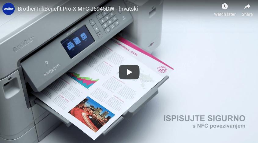 MFC-J5945DW bežični A3 tintni višenamjenski uređaj u boji za ispis, kopiranje, skeniranje i faksiranje* 7
