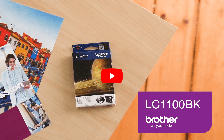 Originalan Brother LC1100BK spremnik tinte – crni 6